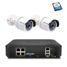 IP Camera Techage HD 4CH 1080P HDMI POE NVR Kit CCTV System 720P 1080P Outdoor