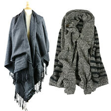 Long Style Lady Fashion Tassel Scarf Scarves Stole Wrap Women Fashion
