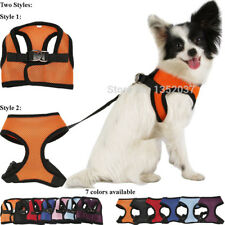 Nylon Mesh Vest Harness for Dogs Puppy Cats Pets, Soft Air Small Dog Harness,