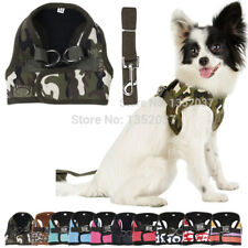 Small Puppy Medium Large Big Dog Harness and Walking Leads Set Pet Winter Vest