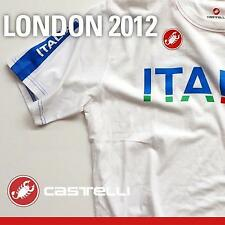Castelli 2012 London Team Italia Short Sleeve T-Shirt - V12224