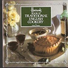 HARRODS BOOK OF TRADITIONAL ENGLISH COOKERY By Walden Hilary - Hardcover *Mint*