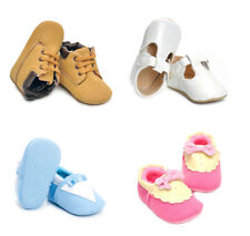 Infant Toddler Baby Boy Girl Soft Crib Shoes Newborn First Walk Shoes 18 Months