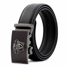 New Fashion Casual Genuine Leather Mens Belt Automatic Buckle Waistband Strap