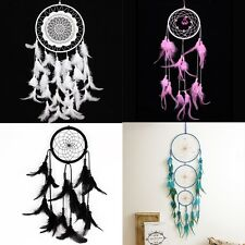 Dream Catcher wall hanging decoration bead ornament feathers Various Handmade