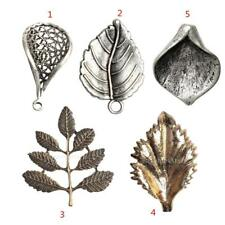 10pc Alloy Leaves Leaf Charms DIY Pendants for Jewelry Making Crafts Accessories