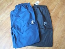 XL Cotton Traders RELAXED CUFF NAVY BLUE BLACK  TRACK PANT WOVEN  38-40 WAIST