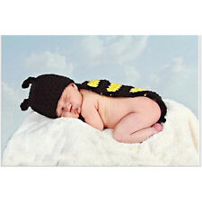 Knit Newborn Baby Girl Boy Crochet Photo Photography Prop Hat Outfit Sets