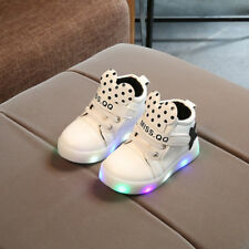 Kids Boys Girls LED Light Up Luminous Sneakers Sport casual Running Shoes Comfy