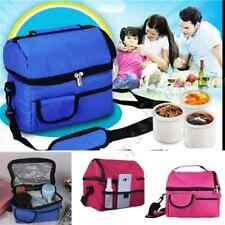 Thermal Picnic Cooler Waterproof  Insulated Lunch Bag Shoulder  Storage Box Tote