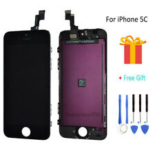 For iPhone 5C Black LCD Display Touch Screen Digitizer Assembly Replacement+Tool