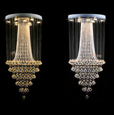 Luxury Ceiling Lamp LED Crystal Light Chandelier Stair Pendant Lighting Fixtures