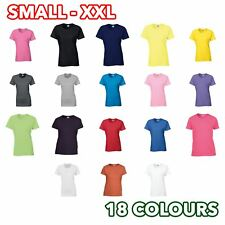 Women's Ladies Girls Heavy cotton t-shirt Tee lot