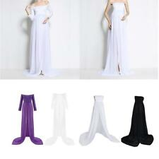 1x New Pregnant Women Chiffon Maxi Dress Maternity Gown Photography Props Dress