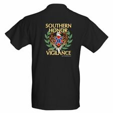 Southern Honor and Vigilance - 2 sided Confederate Rebel t-shirt size S thru XXL