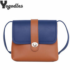 Women Casual Messenger Bags Cute Simple Ladies Clutches PU Leather Crossbody Bag