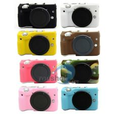【US】Soft Silicone Camera Body Case Cover Protector Bag Skin For Canon EOS M3
