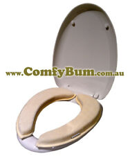 Bathroom comfort accessory - Cushioned Toilet Seat Warmers