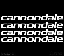 Cannondale Decal Cycling Bike Stickers 265mm Set of 4 Buy 2 Sets Get 1 Free