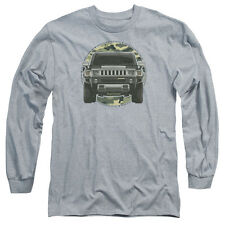HUMMER LEAD OR FOLLOW Licensed Men's Long Sleeve Graphic Tee Shirt SM-3XL