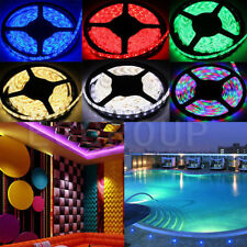 5M 300 LEDs SMD 3528/5050/5630 RGB Flexible Strip String Lights/Remote/Power Kit