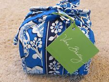 Vera Bradley Boysenberry Blue All Wrapped Up Cosmetic Jewelry Travel Case -NWT!