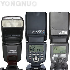 YONGNUO MANUAL Flash Speedlite YN560 III YN560 IV YN660 for Canon Nikon Pentax