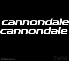 Cannondale Cycling Bike Sticker Decals 225mm Set of 2 Buy 2 Sets Get 1 Free