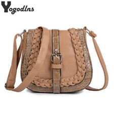 Woman Messenger Bags National Wind Shoulder Bag Knitting Crossbody Bag Handbags