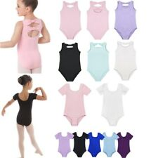 Toddler Girls Gymnastics Bowknots Ballet Dancer Leotard Dress Skating Dancewear