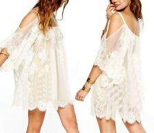 Fashion Embroidered Floral Lace Strapless Mini Dress For Women