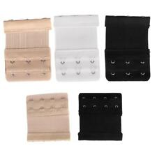 9/6pcs - 3/4 Hooks Ladies Bra Extender Extension Strap Underwear Strapless