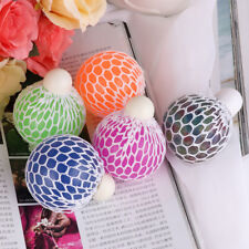 Anti Stress Face Reliever Grape Ball Autism Mood Squeeze Relief Funny Toys