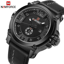 NAVIFORCE Top Luxury Brand Men Sport Military Quartz Watch Man Analog Date Watch