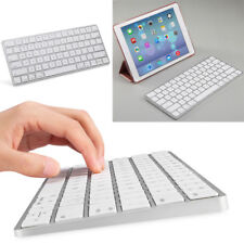 Thin Bluetooth 3.0 Wireless Keyboard Keypad for iPad Mac Computer PC Macbook