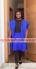 Odeneho Wear Men's 4 Pieces Set Shadda Agbada. African Clothing.All Colors.