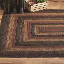 Slate Braided Area Rug By IHF Rugs. Oval & Rectangle. Many Sizes.