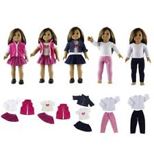 Clothes for 18'' American Girl Dolls My Generation Doll Dress Skirt Jeans Coat
