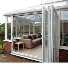 White uPVC 2 Segment Bi Folding Doors - Made to Measure on 5th