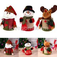 Christmas Gift Box Santa Reindeer Xmas Party Candy Cake Apple Table Decorations