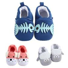 New Infant Sneakers Baby Boys Girls Non Slip Soft Sole Crib Cotton Shoes 0-18M