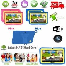 "7""Google Android 4.4 Quad Core 4GB Kids Tablet PC Dual Camera 1.3GHz WiFi GD"