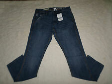 GAP 1969 JEANS MENS CARPENTER SLIM FIT SIZE 31X32 ZIP FLY BRIGHT INDIGO NEW NWT