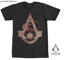 Assassin's Creed T-Shirt / Assassin's Creed Machinery Gears Tee,Video Game Tee