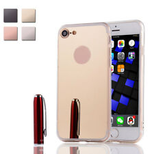 For iPhone 7 / Plus Luxury Ultra Slim Crystal Mirror Back Silicone Case Cover