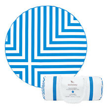 Extra Large Round Towel - Quick Dry & Compact, Sand Free Beach Mat