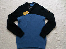 NAUTICA SWEATER MENS BUTTON MOCK NECK SIZE XXL LONG SLEEVES NEW WITH TAGS