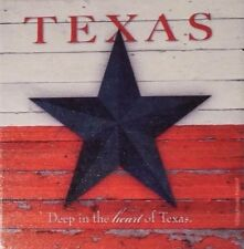 "New Texas Themed 4 1/4"" Square Ceramic Coaster Set 6 Piece Gift Set"
