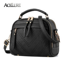 ACELURE Fur Women Messenger Bag Candy Color Shoulder Bag Striped Ladies Handbags