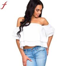 Sexy Off Shoulder Women Blouses